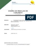 DISEÑO DE MEZCLAS QQUEHUAR