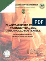 Planteamiento Teorico Conceptual Del Desarrollo Sostenible.