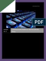 Reporte de La Practica 2 Excel