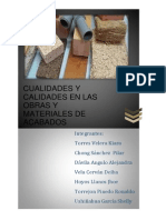 (5) Cualidades Materiales de Construccion