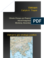 Thayer Vietnam and Climate Change