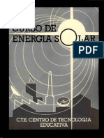 Energia Solar - Instalaciones Solares -Curso