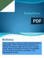 Biobalistica presentacion