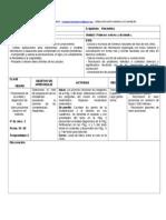 Planificacion Matematica 5o Unidad I