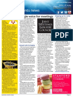 Business Events News for Fri 29 Nov 2013 - Single voice for meetings, AIME, networking, ICCA, Norfolk and much more