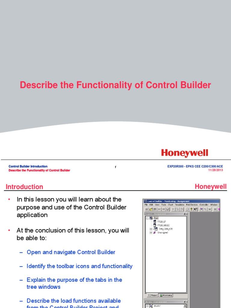 honeywell experion pks knowledge builder