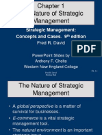 Chapter 01 The Nature of Strategic Management