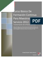 Material de Trabajo 20 Productos -2012 1