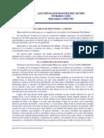LECCIÓN 01 ESTUDIANTES DEL MUNDO