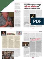 Casullo, Revista Debate, 4 de abril de 2008.
