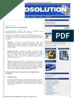TECNOSOLUTION_ Tipos de antenas e suas aplicações!