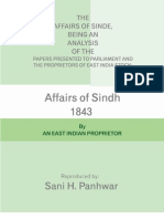 Affairs of Sindh