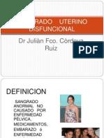 SANGRADO UTERINO DISFUNCIONAL (1)