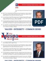 John Vespa for Judge Illinois Tenth Judicial Circuit Campaign announcement