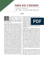 [Alchimie] Arnauld de Villeneuve - Le Chemin Du Chemin