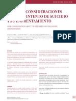 Intento de Suicidio