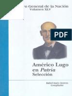 Americo Lugo en Patria. Seleccion