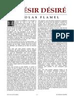 [Alchimie] Flamel Nicolas - Le Désir Désiré