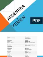 Argentina y Yemen