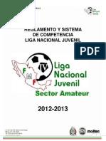 REGLAMENTO Liga Nacional Juvenil