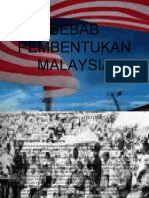 Sebab Pembentukan Malaysia