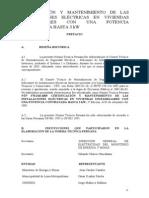 Certificaciones y Mant IE en VIV Unif Pot Hasta 3 kW..