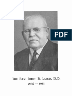 Laird Tribute Sermon 1953