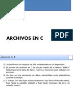 Archivos en C