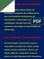 3.1 Enfermedades Mitocondriales Enero 2013
