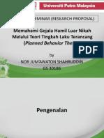 Nor Jumawaton Seminar Present