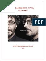LETRAS DEL DISCO CONFIÁ - Fito Paez