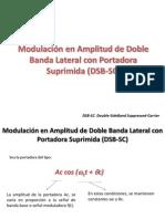 Modulación en Amplitud de Doble Banda Lateral con