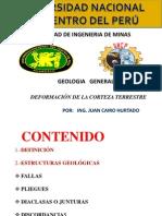 DEFORMACION CORTEZA TERRESTRE