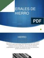 MINERALES DE HIERRO.pptx