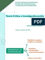 Teoría Crítica e Investigación-Acción