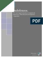 INDEFENSOS. Una aproximación al problema de la defensa nacional