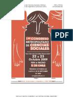 Congreso Metropolitano de Ciencias Sociales