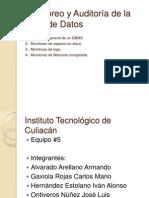Monitoreo y Auditoría de la Base de Datos
