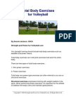 Total Body Exercises for Volleyball