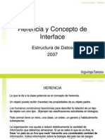 Herencia Interfaces