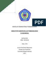 Indikator Pembangunan Nasional