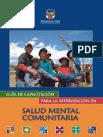 Rivera y Mendoza, 2007, Guía de capacitación para la intervención en SMC