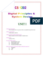 Cs 1202 Digital Principal Syatem Design
