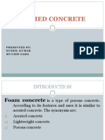 Foamed Concrete