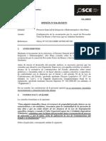 034-13 - PRE - Proyecto Especial de Irrigación e Hidroenergético Alto Piura- Proveedor Unico de bienes