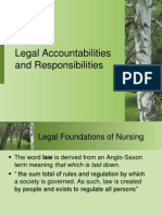 Legal Aspect of Nursing