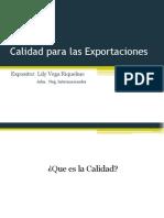 Calidad Para Las Exportaciones