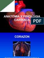 Anatomía y Fisiología Cardíaca