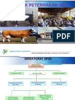 Statistik Peternakan 2013.A