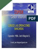 Que Servicios Ofrecen Los Bancos Joel Villagran